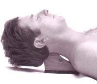 Cervical Wedge presses into the base of the skull.